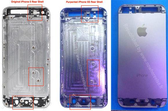 Появились новые фотографии «внутренностей» смартфона Apple iPhone 5S