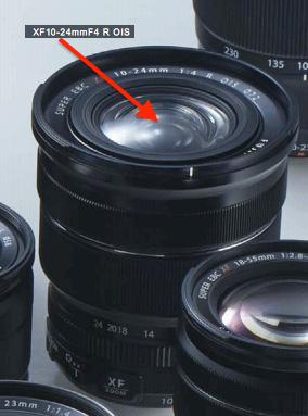 Объективы Fujinon XF10-24mm F4 R OIS и Fujinon XF56mm F1.2 R будут представлены в ближайшие месяцы
