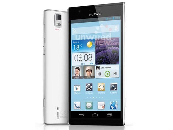 Появились первые изображения смартфона Huawei Ascend P2