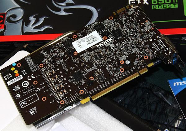 Появились подробные снимки 3D-карты MSI GeForce GTX 650 Ti Boost Gaming Series