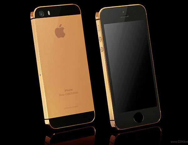 Goldgenie отделывает смартфоны Apple iPhone 5s драгоценными металлами