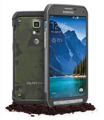 Смартфон Samsung Galaxy S5 Active доступен абонентам оператора AT&T