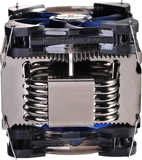 В конструкцию процессорного охладителя X2 Eclipse IV входит шесть тепловых трубок