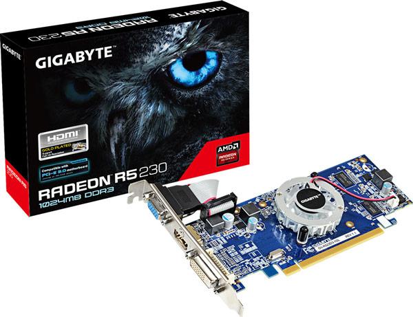 Ориентировочная цена 3D-карты начального уровня AMD Radeon R5 230 — $50