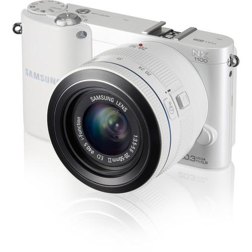 Представлена беззеркальная камера Samsung NX1100 формата APS-C