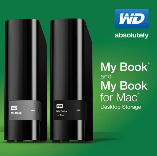 Цена накопителя WD My Book объемом 2 ТБ равна $130, 3 ТБ — $150, 4 ТБ — $180