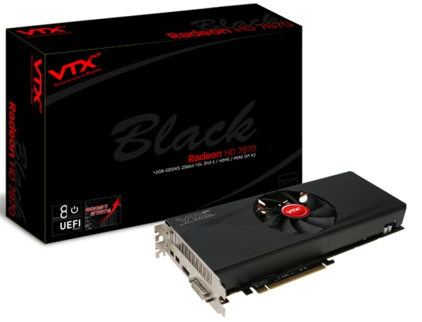 VTX3D HD7870 Black