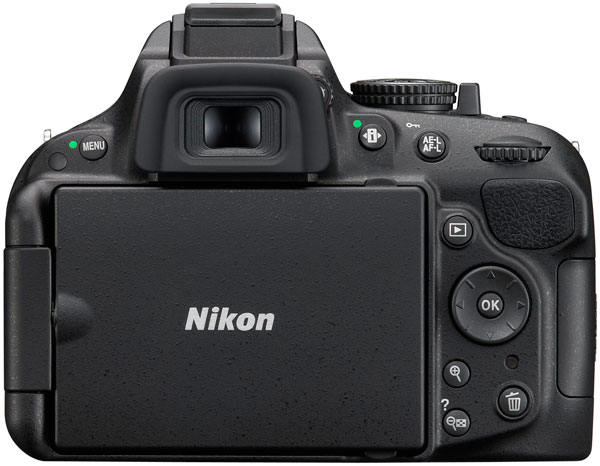 Представлена зеркальная камера Nikon D5200
