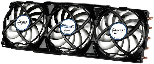 В модели Accelero Hybrid II-120 объединено жидкостное и воздушное охлаждение