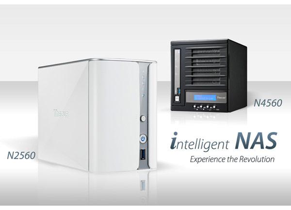 Представлены сетевые хранилища Thecus N2560 и N4560