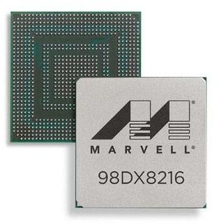 Производитель обещает скоро начать поставки ознакомительных образцов Marvell Prestera DX8216, DX3336 и DX3236