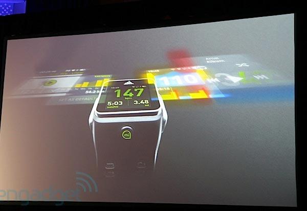 Технические характеристики умных часов Adidas пока неизвестны