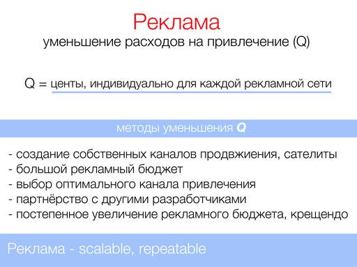 Продвижение приложений в AppStore (Google Play)