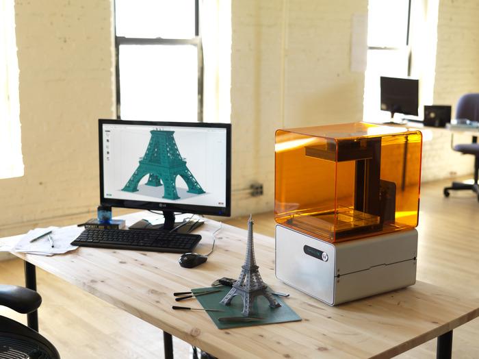 Проект 3D принтера высокого разрешения Form 1 от FormLabs на Кикстартере