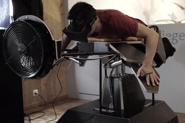 Проект Birdly: почувствуй себя птицей вместе с Oculus Rift