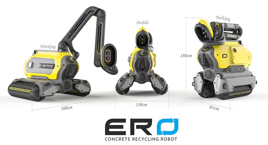 Проект робота для демонтажа бетонных конструкций