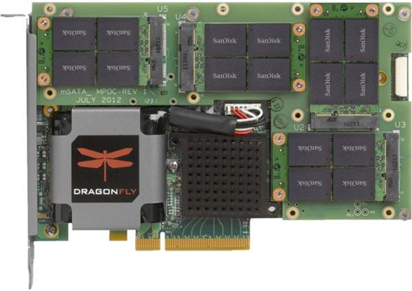 Кэширующий накопитель Marvell DragonFly NVDRIVE в виде карты расширения PCI Express предназначен для серверов