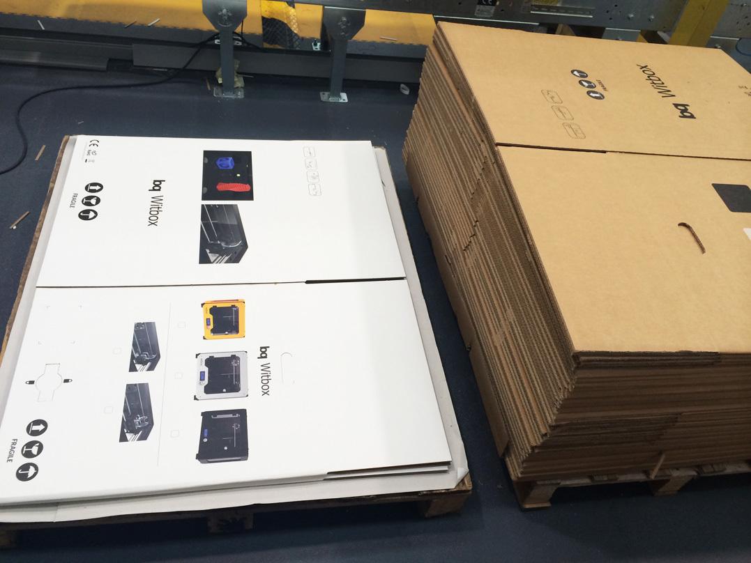 Witbox двойная упаковка в коробки