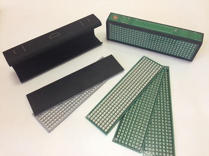 Производство светодиодного дисплея пилотной партии LaMetric