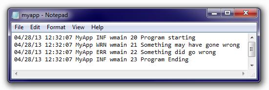 Простой логгер для C++