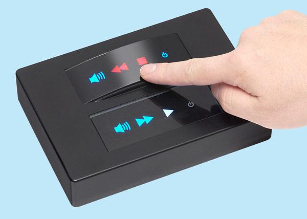 Сенсоры CapLux Touch, которые будут выпускаться на фабрике SMK в Японии, могут включать до 22 «клавиш»