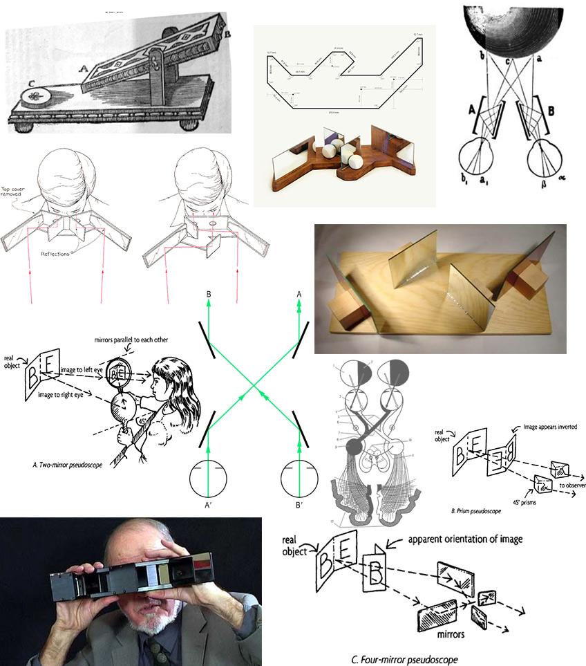 Псевдоскоп, или что если поменять глаза местами