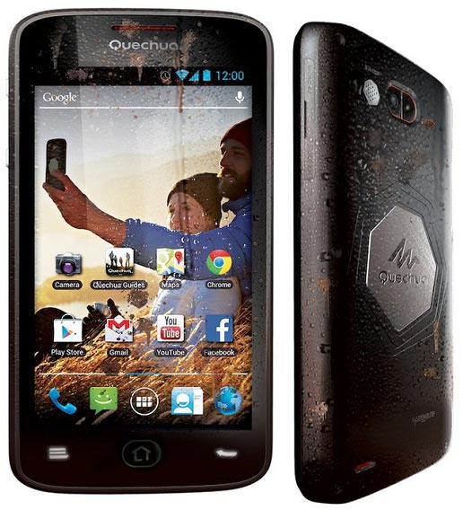 Основой смартфона Quechua служит SoC Qualcomm с четырехъядерным процессором