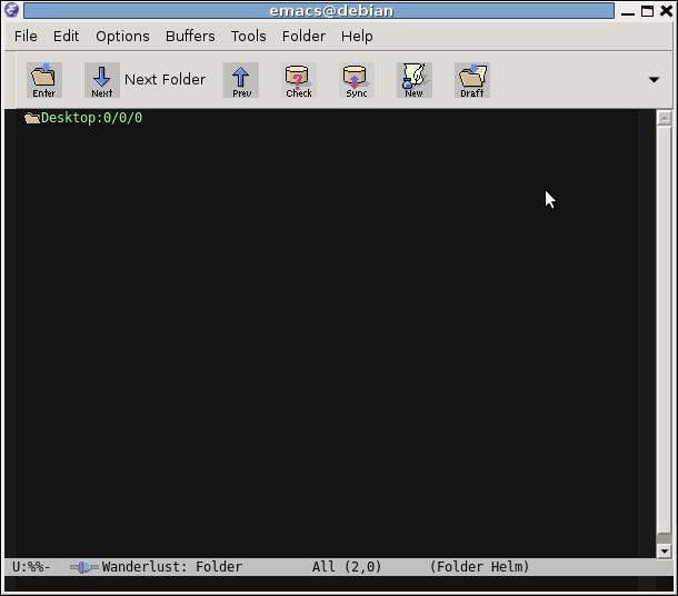 Работаем с почтой через Emacs и Wanderlust