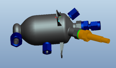 Ракетный двигатель, напечатанный на 3D принтере