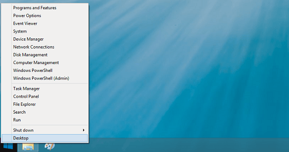 Расширяем контекстное меню кнопки «Пуск» в Windows 8.1
