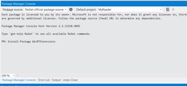 Разбираемся с разработкой Windows 8 приложений на XAML/С#, реализуя простой RSS Reader. Ч.3