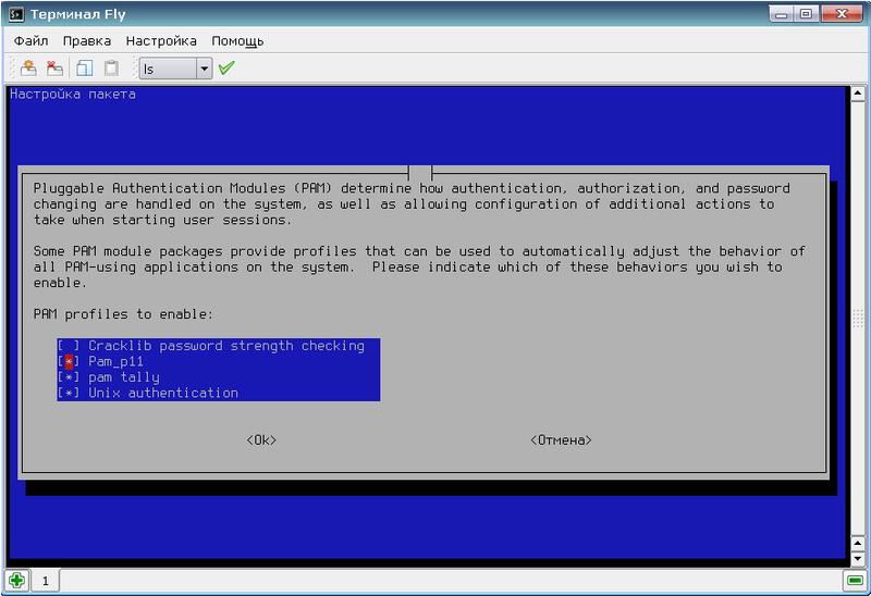 Разработка и применение модуля PAM для аутентификации в Astra Linux с использованием Рутокен ЭЦП и Рутокен S