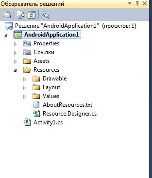 Разработка приложений для Android с C#