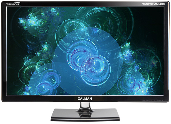 Разрешение мониторов Zalman TM215, TM230, TM270 и TM270V — 1920 х 1080 пикселей