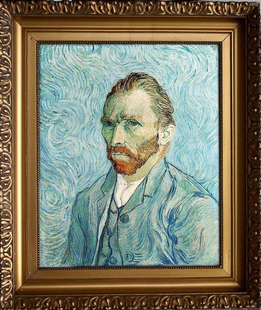 Реконструкция портрета Ван Гога