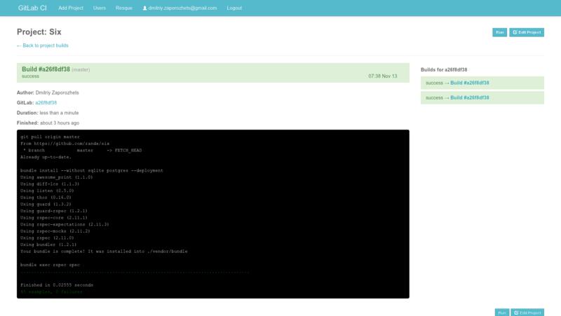 Релиз GitLab 4.0 и GitLab CI