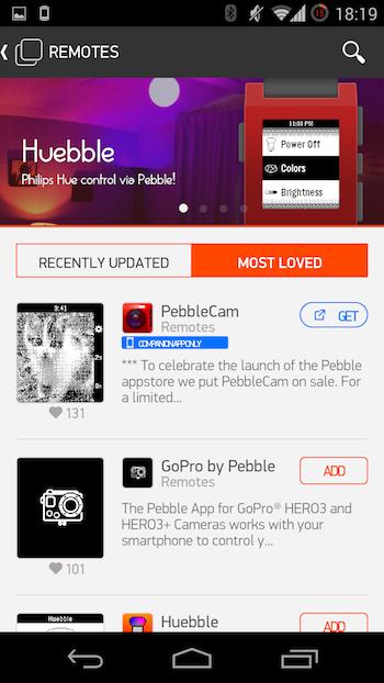 Релиз Pebble 2.0 и Pebble AppStore