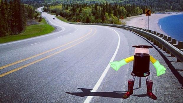 Робот Hitchbot готов путешествовать автостопом