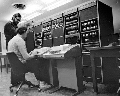 Рождение и развитие Unix
