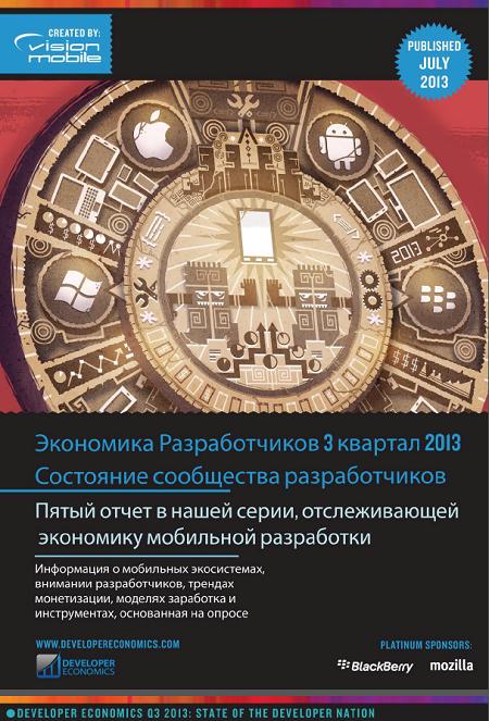 Русская версия Developer Economics Q3 2013