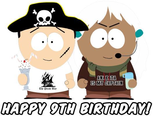 С днем рождения пиратской бухты — 9 лет