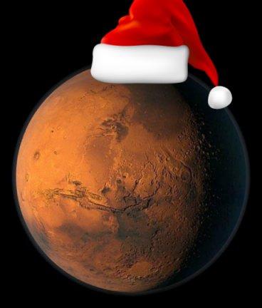 С Новым Марсианским Годом!