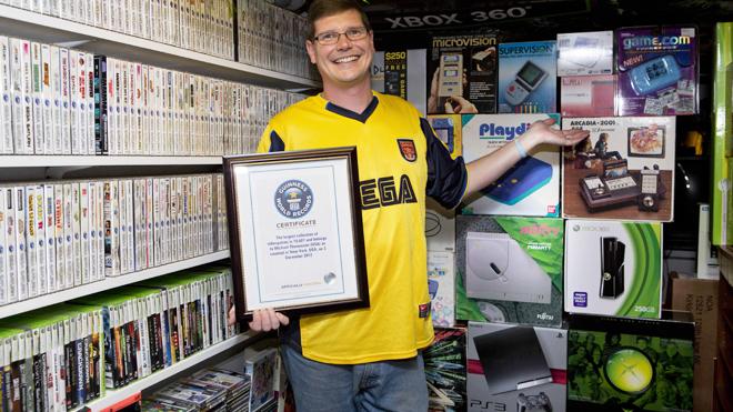 Самая полная в мире коллекция видеоигр продана за 750 тысяч долларов