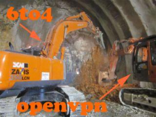 Сами себе туннельный брокер IPv6 с помощью openvpn и 6to4