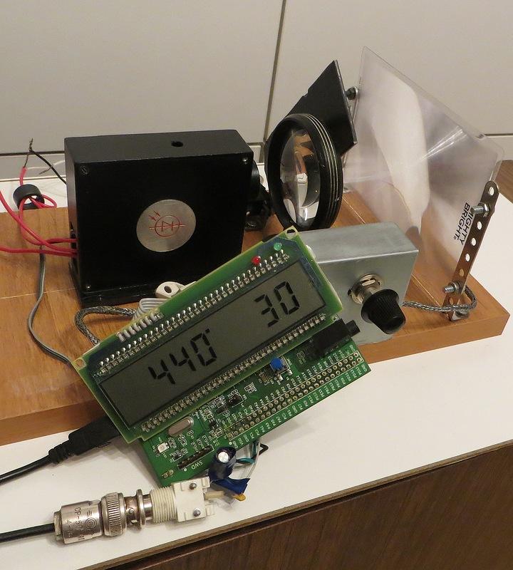 Самодельный фазовый лазерный дальномер