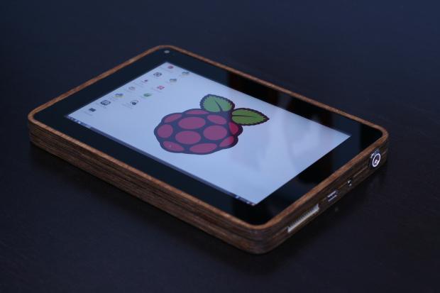 Самодельный планшет на Raspberry Pi