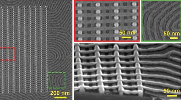 Самосборные 3D структуры для наноэлектроники