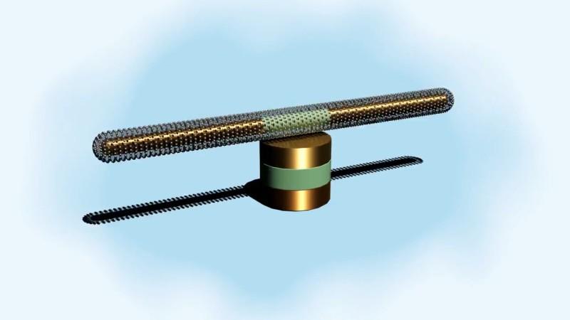 Самый маленький и быстрый наномотор: 1 мкм, 18 000 RPM