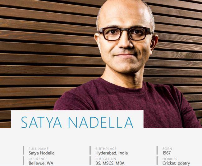Сатья Наделла официально стал генеральным директором Microsoft. Билл Гейтс ушел с поста председателя совета директоров
