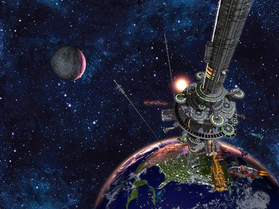 Сбор денег на космический лифт